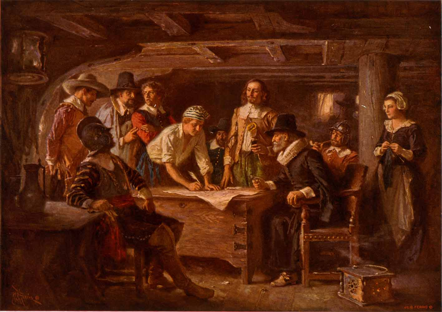 the mayflower the mayflower compact pictures to pin on pinterest