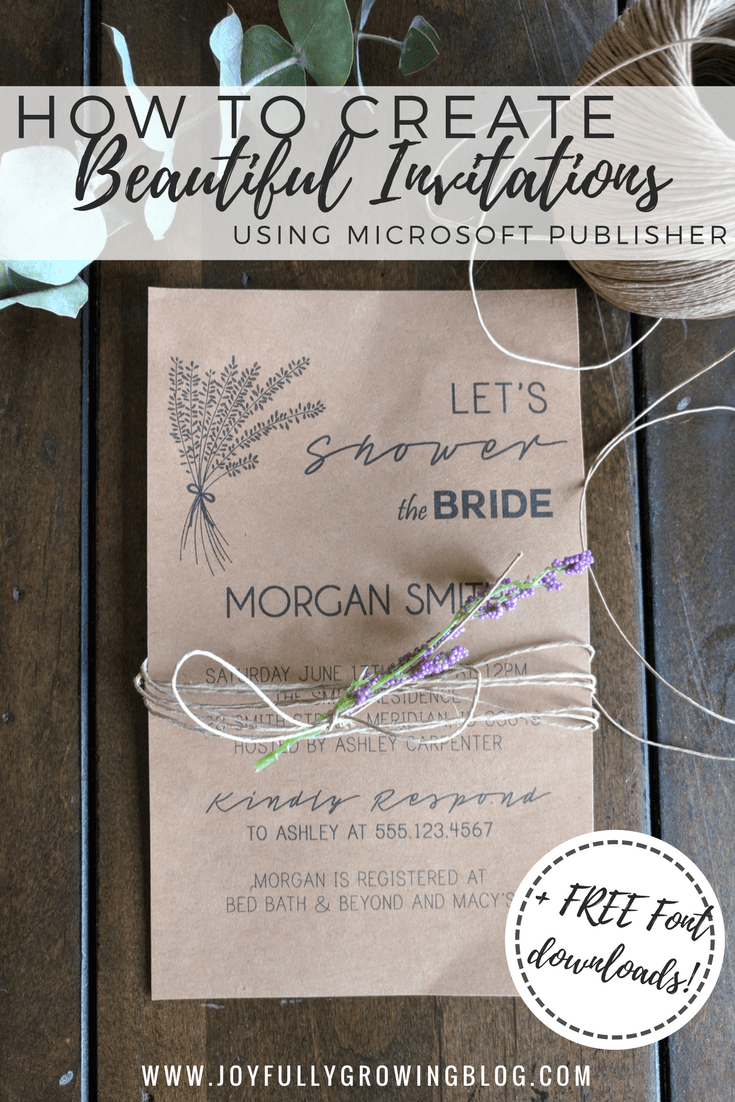 corporate event invitation email%0A How to Create Beautiful Invitations Using Microsoft Publisher   DIY Wedding  Invitations   Part Invitations