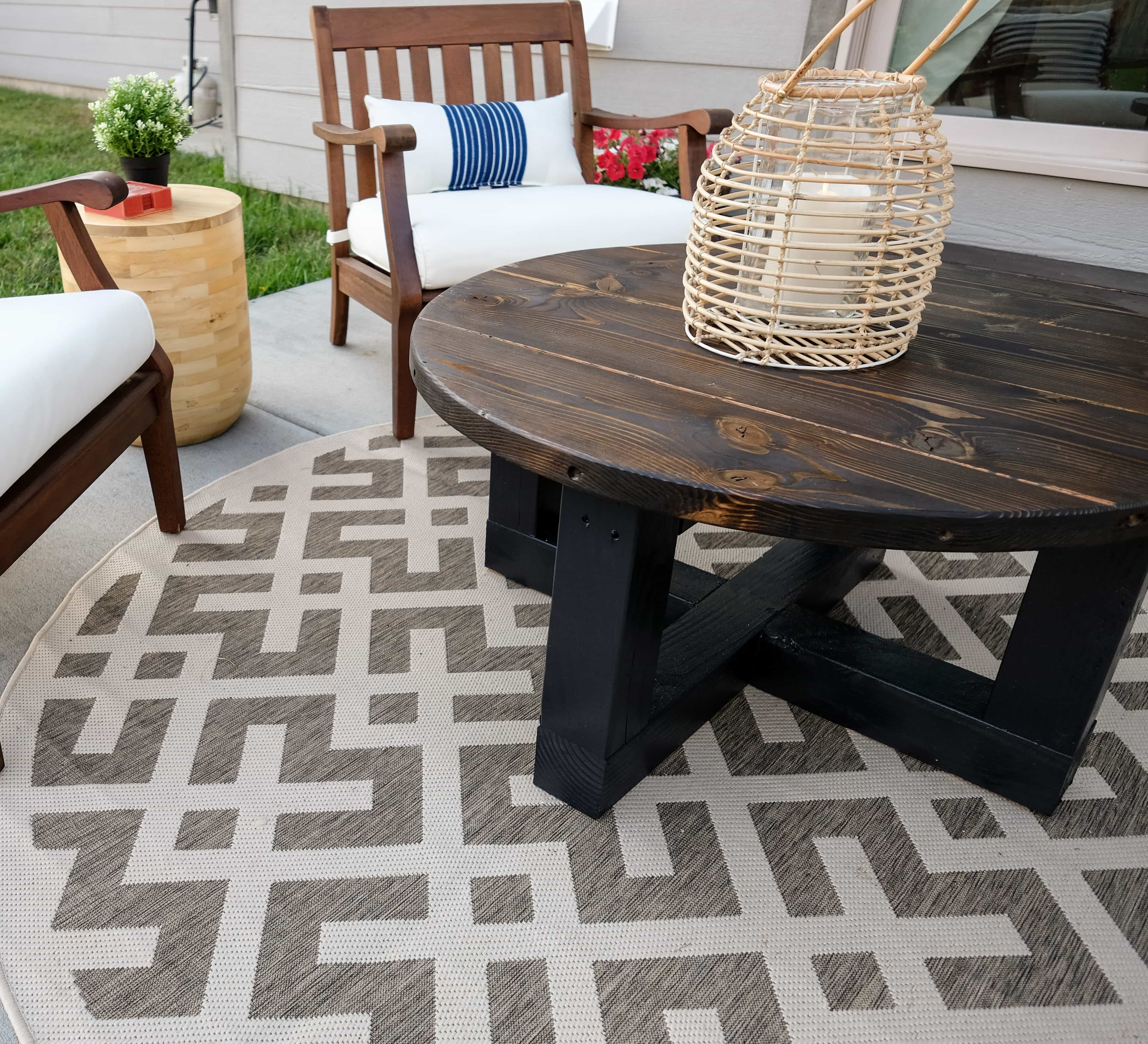 Small Patio Makeover - On A Budget