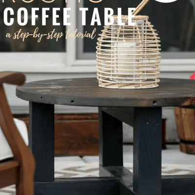 How to Build a DIY Rustic Coffee Table