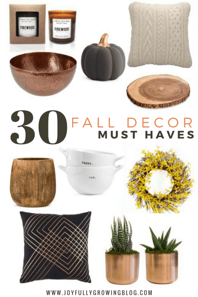 30 Fall Decor Must Haves