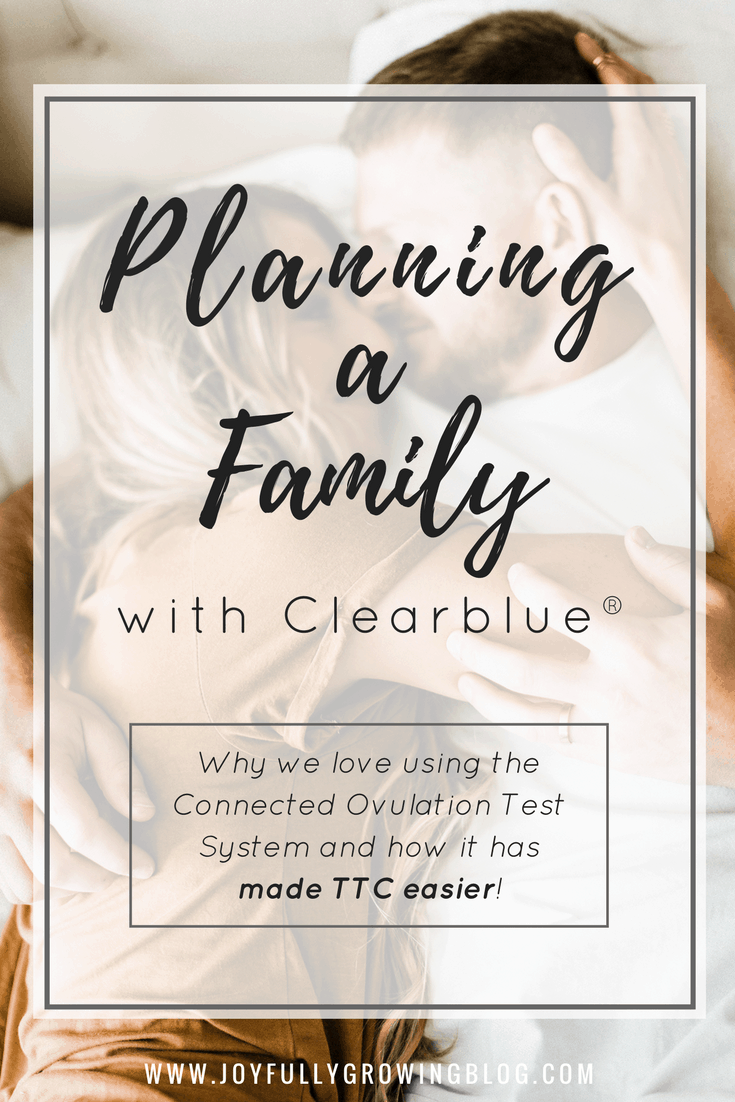 Planning Our Family with Clearblue® Connected Ovulation Test System!