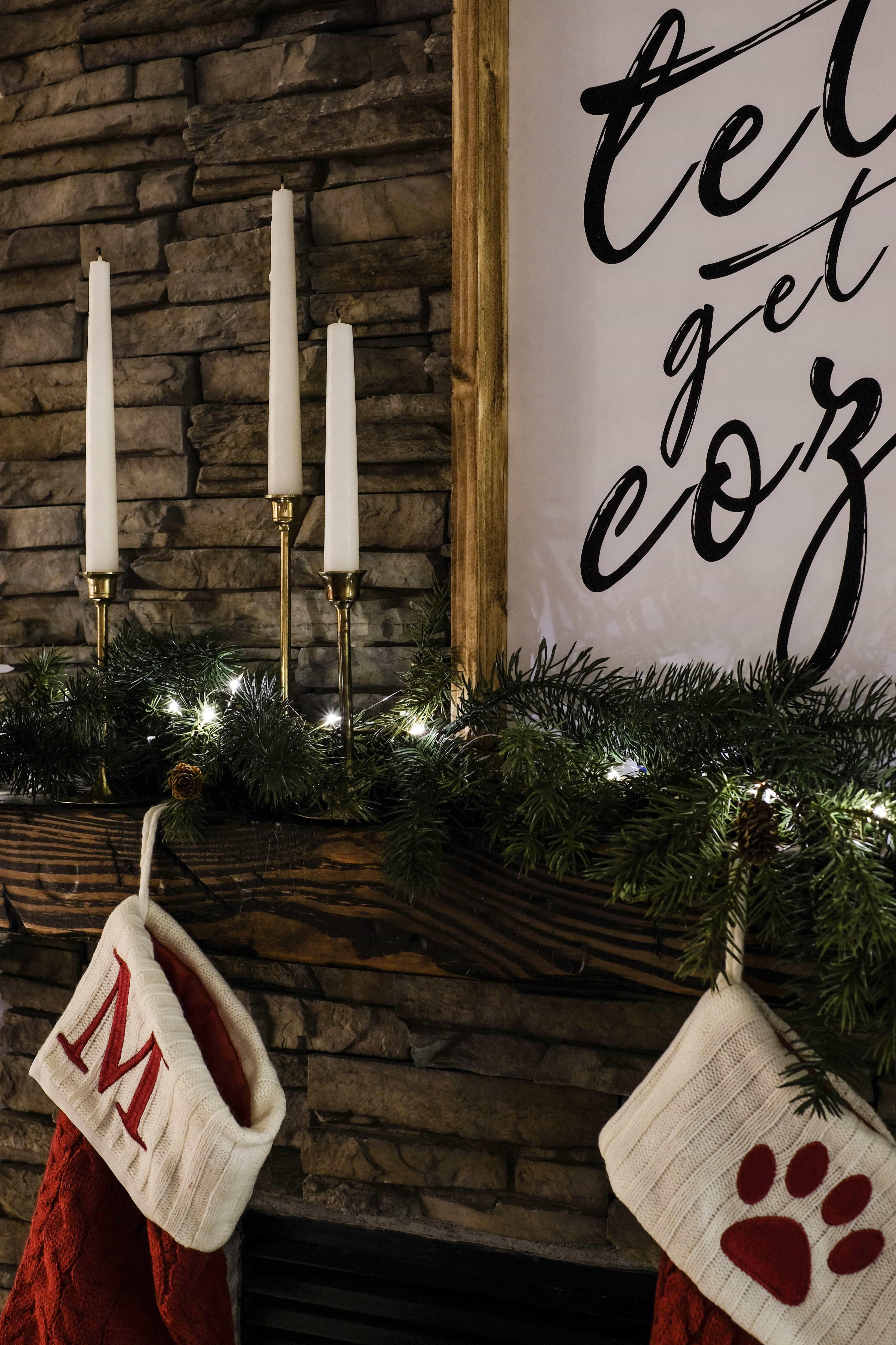 Christmas Lights Tour I Cozy, Christmas Interiors I
