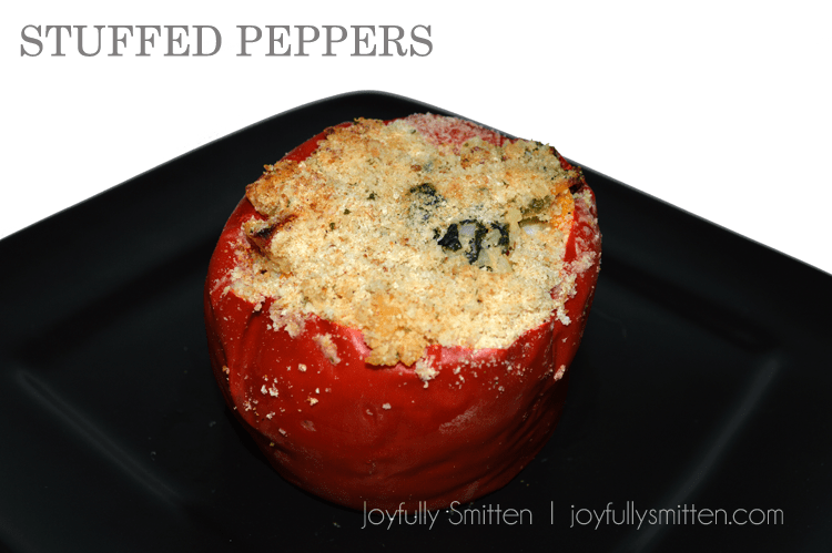Non Traditional Stuffed Peppers. So Good!