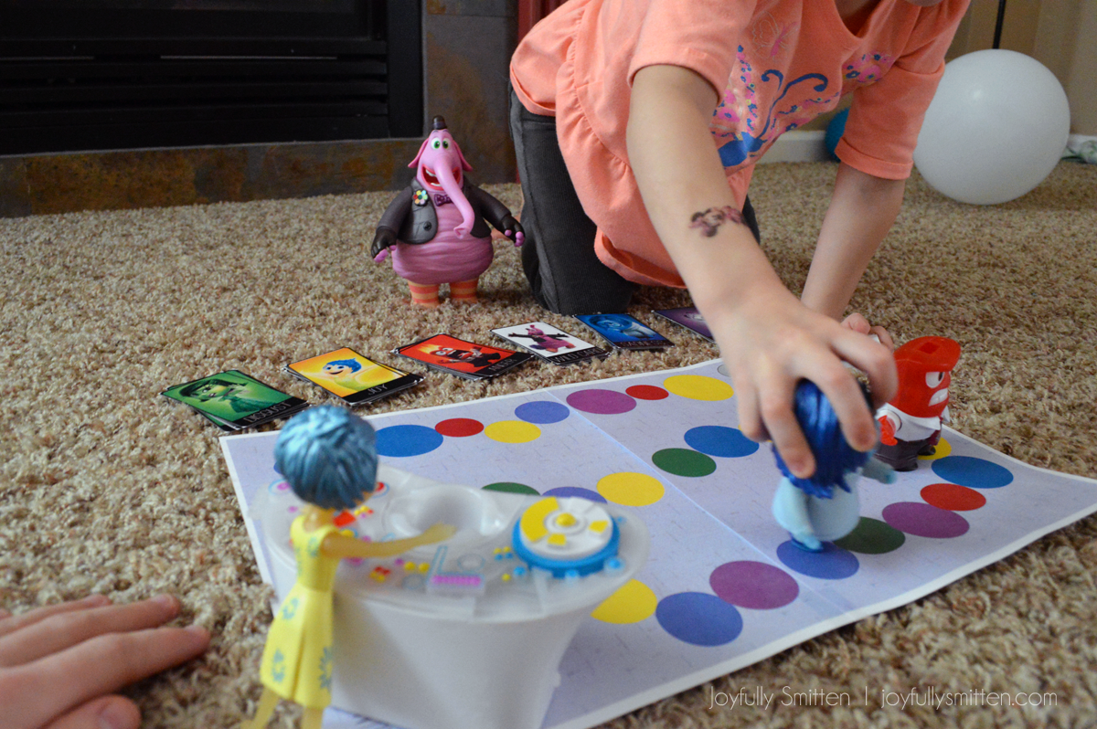Inside Out Emotions Board Game Play