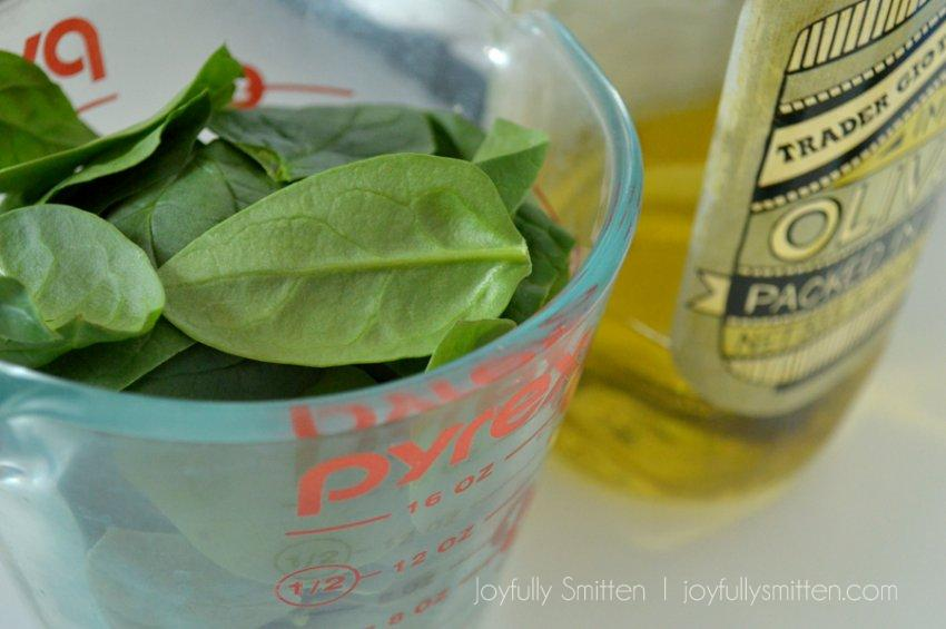 Spinach Pesto recipe by Joyfully Smitten