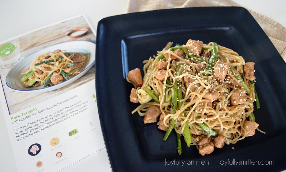 HelloFreshIngredientsPork Teriyaki