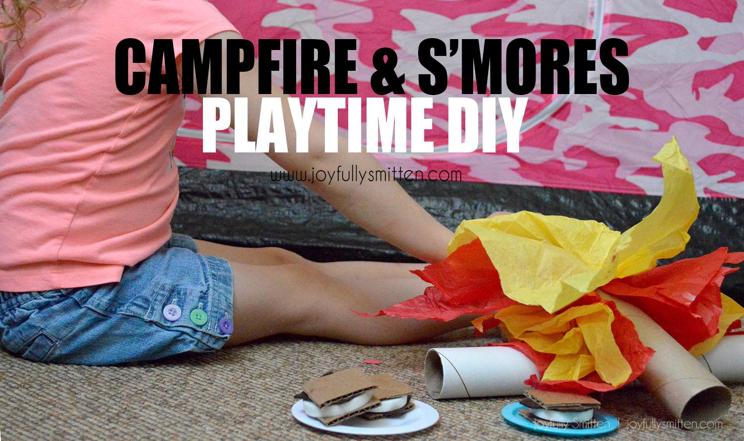 KIDS CAMPFIRE AND SMORES DIat Y Joyfullysmitten