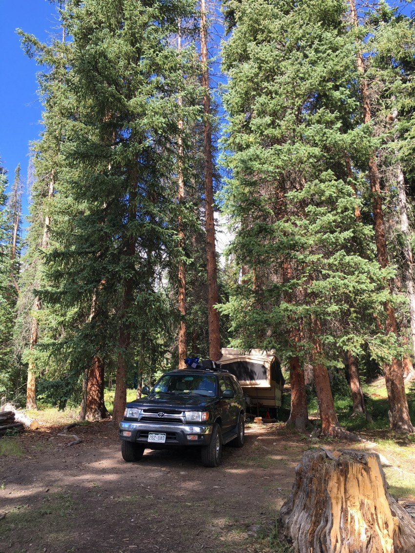 Routt National Forest Camping