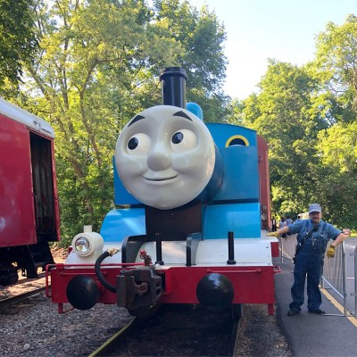 A Day with Thomas and the Mines
