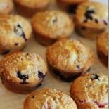 Triple Berry Strudel Muffins