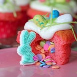 Easter Surprise Cupcakes