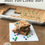 Sheet Pan Cookie Bars