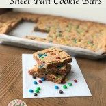 Sheet Pan Cookie Bars