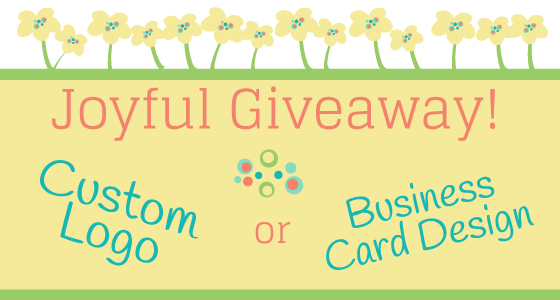 Joyful Roots Business Card and Logo Giveaway