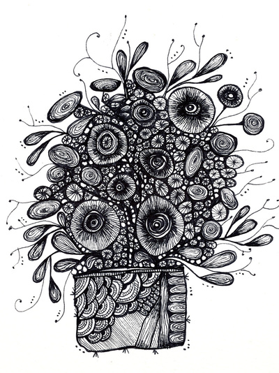 Bouquet of Flowers by Poz-Art