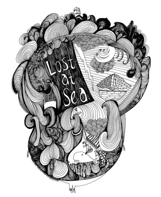 Lost at Sea by Virginia Kraljevic
