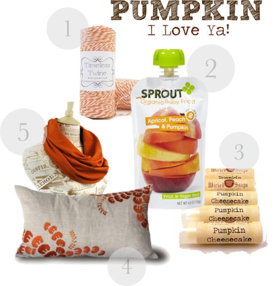 Pumpkin, I Love ya!