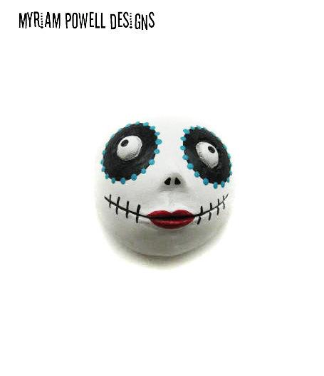 Day of the Dead - Dia de los muertos - Halloween Magnet - Halloween Decor - Myriam Powell