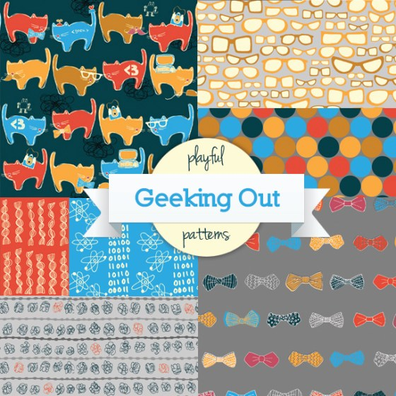 Geeking Out Cats and Glasses Bow Ties and Nerd Science