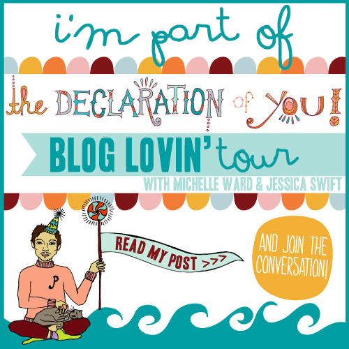 Show Your Enthusiasm! **It's the Declaration of You BlogLovin' Tour & Free Printables**