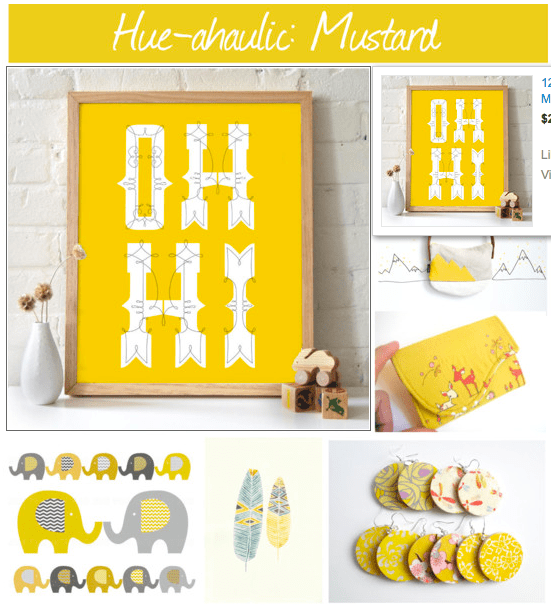 Hueahaulic Mustard Yellow