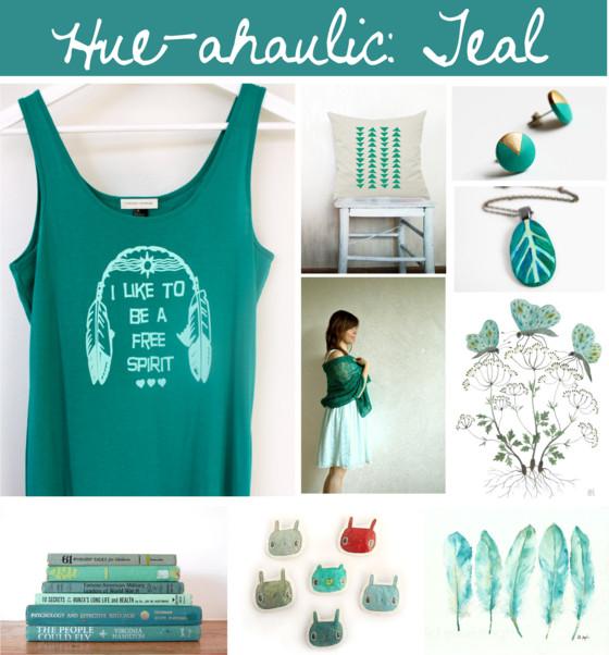 Hue-ahaulic Teal