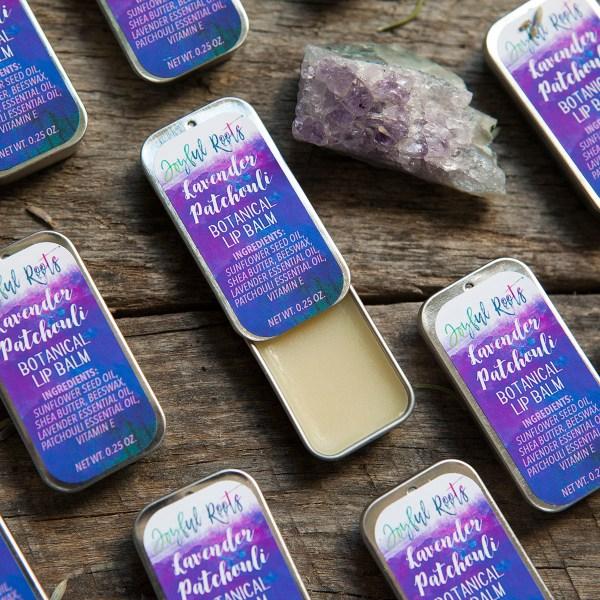 Lavender Patchouli Lip Balm