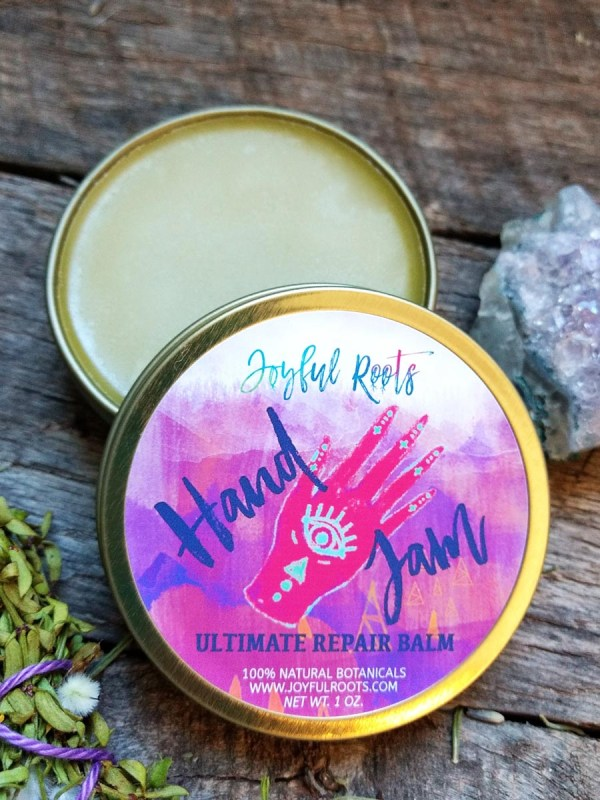 Hand Jam Ultimate Repair Balm - Heal All Salve, Gardener Hand Cream, Healing Balm, Cuticle Cream, Natural Moisturizer, Herbal Skincare