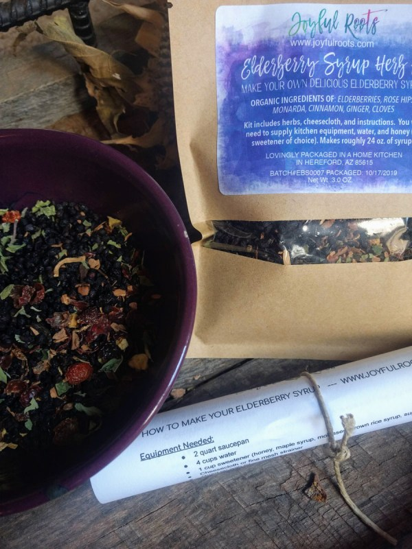 DIY Elderberry Syrup Kit Make at Home