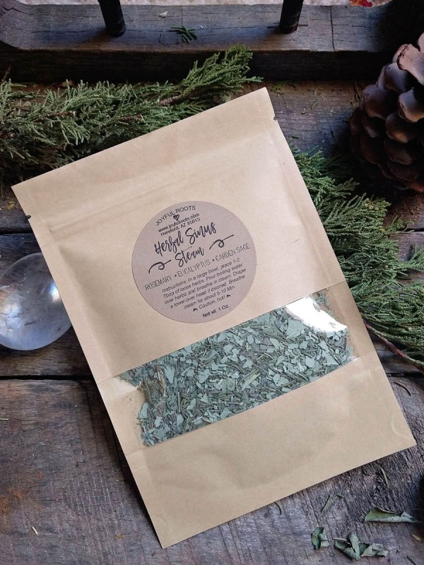 Herbal Face Steam - Rosemary Eucalyptus and Sage