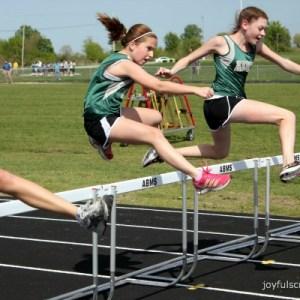 #hurdles in track