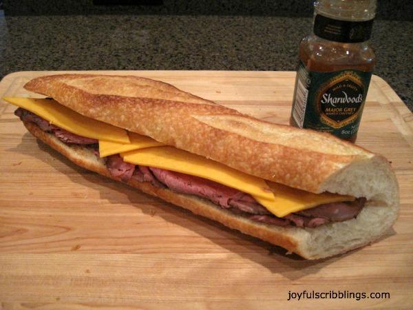 #Clinton Kelly's Roast beef Sandwich
