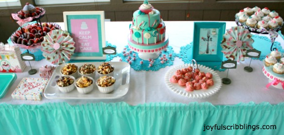 Sweet 13 Girls Birthday Party