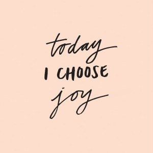 #choose joy