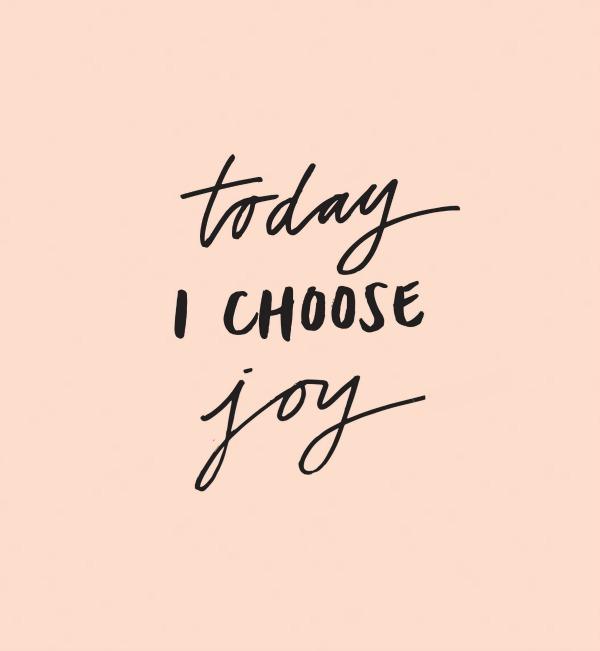 #choose joy