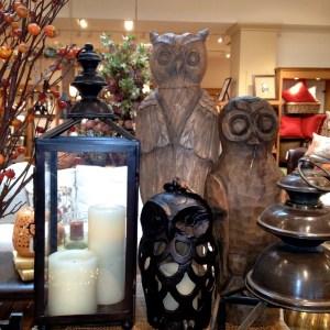 Pottery Barn Owls