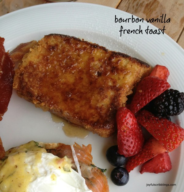 bourbon vanilla french toast