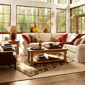 #Pottery Barn Living Room