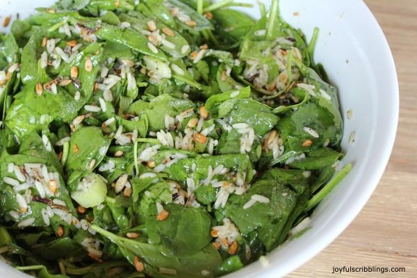 #spinach salad