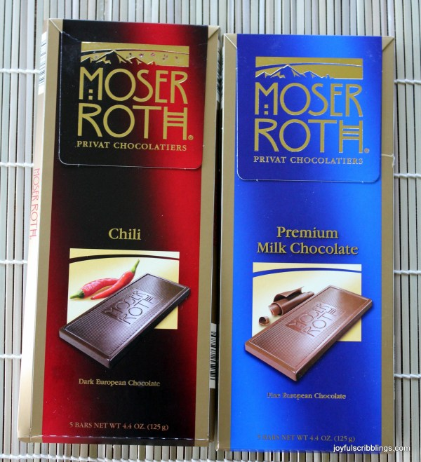 #Moser Roth Chocolate
