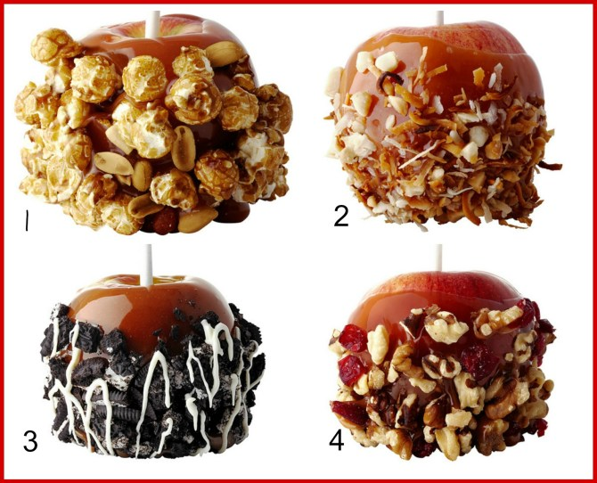 #caramel apples