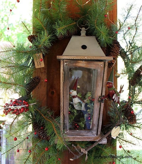 #lantern in a wreath