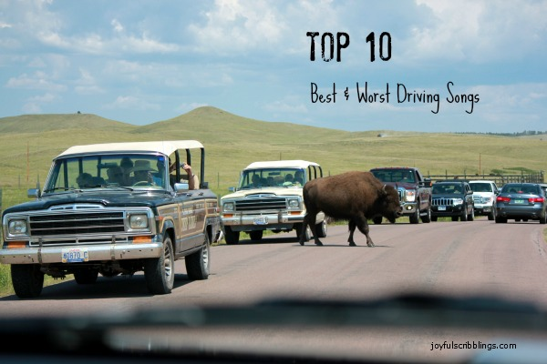 #top 10 best & worst driving songs