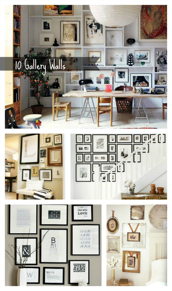 #10 Gallery wall ideas
