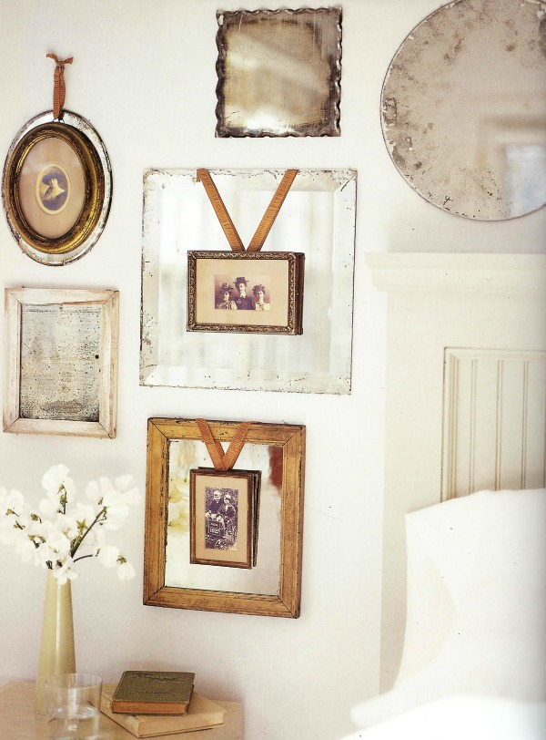 #vintage photo wall