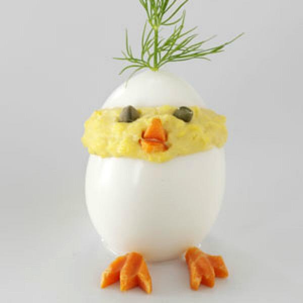 #Deviled Egg Chicks