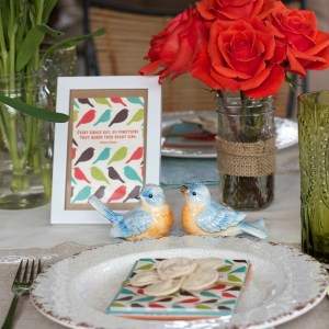 spring tablescape and tips for tabletop styling