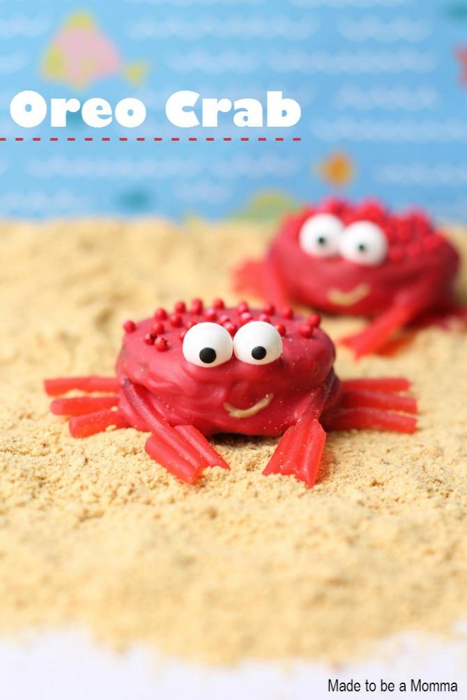 Oreo crab
