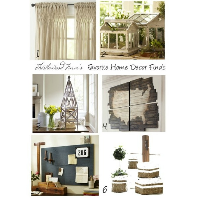 Thistlewood's Home Decor Finds